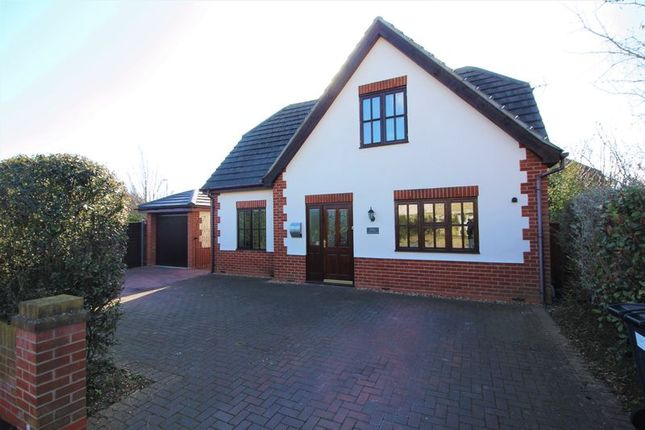 Thumbnail Detached house for sale in Hartford Road, Huntingdon, Cambridgeshire