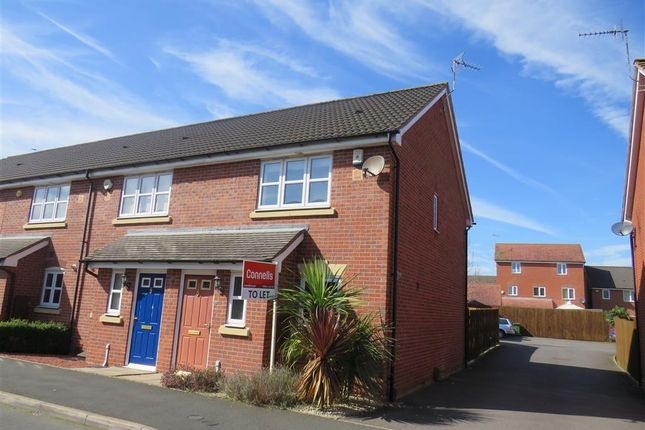 Thumbnail End terrace house to rent in Swan Meadow, Chase Meadow Square, Warwick