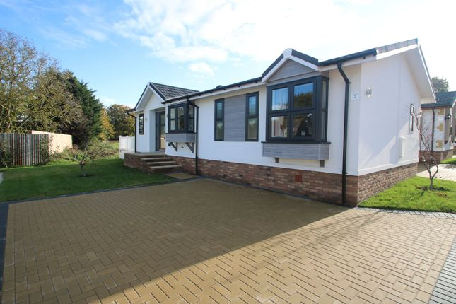 Thumbnail Mobile/park home for sale in Red River Country Park, Kingsmans Farm Road, Hullbridge