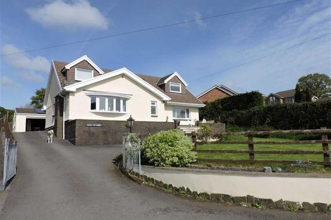 Thumbnail Detached house for sale in Ebenezer Road, Llanedi, Swansea