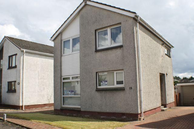 Thumbnail Detached house to rent in Violet Gardens, Carluke