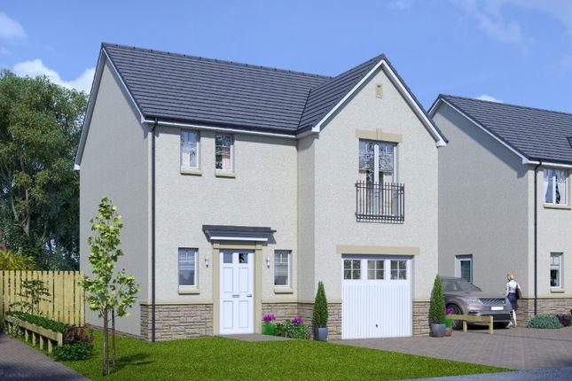 Thumbnail Detached house for sale in Plot 17 Cheviot, Silver Glen, Alva, Stirling