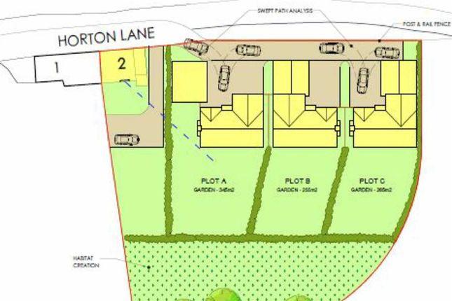 Thumbnail Land for sale in White Row, Horton, Telford