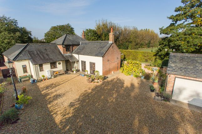 Thumbnail Detached house for sale in Rectory Road, Tydd St. Mary, Wisbech