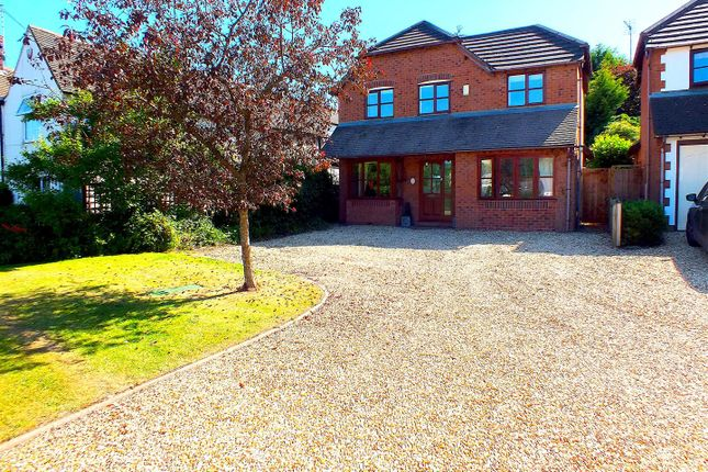 Thumbnail Detached house for sale in Cleobury Road, Far Forest, Rock, Kidderminster