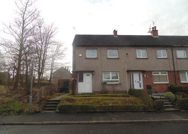Thumbnail End terrace house to rent in Auchenlodment Road, Johnstone