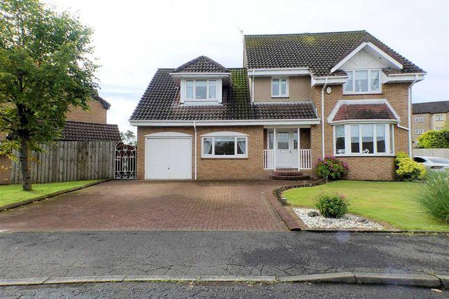 Thumbnail Detached house for sale in Dunlin, Stewartfield, East Kilbride