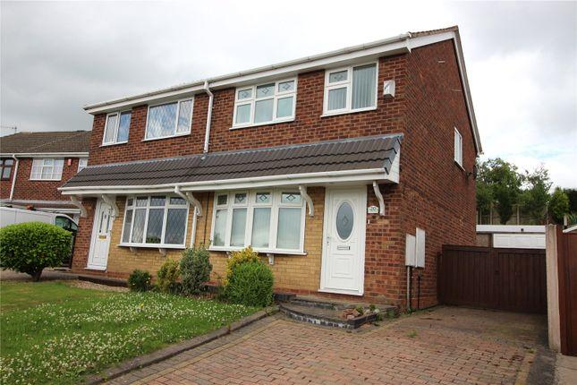 Thumbnail Semi-detached house for sale in Houseman Drive, Weston Coyney, Stoke On Trent