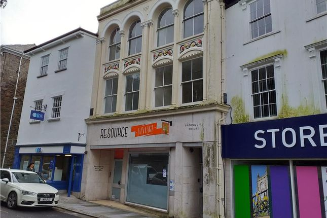 Retail premises to let in Church Street, St Austell, Cornwall