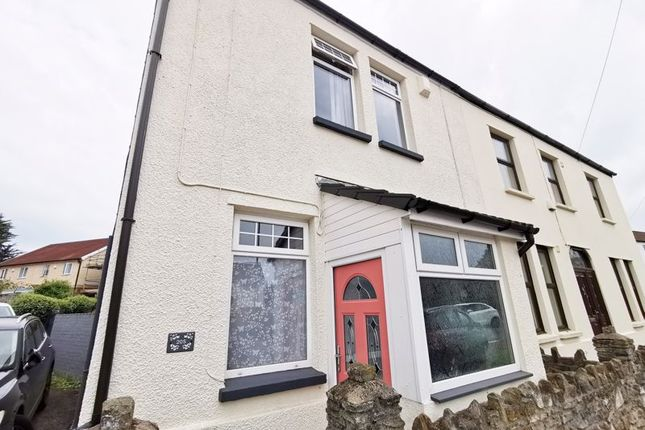 Thumbnail Semi-detached house for sale in Bedwas Road, Caerphilly