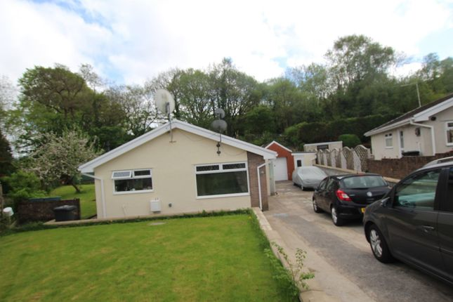 Thumbnail Detached bungalow for sale in Brynffynon Close, Aberdare