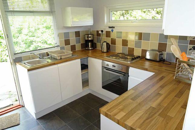 Kitchen: of Chalet, 61, Erw Porthor, Tywyn, Gwynedd LL36