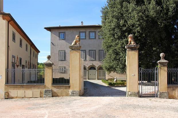 Picture No. 03 of Villa Ceuli, Lari, Tuscany, Italy