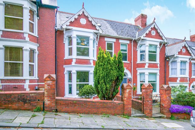 Thumbnail Terraced house for sale in Old Village Road, Barry