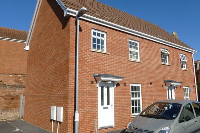Thumbnail Semi-detached house to rent in Horsepond Lane, Bridgwater
