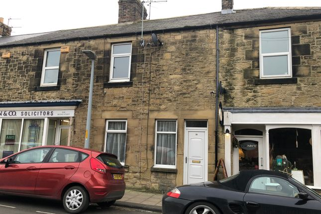 Thumbnail Terraced house to rent in Bridge Street, Amble, Northumberland