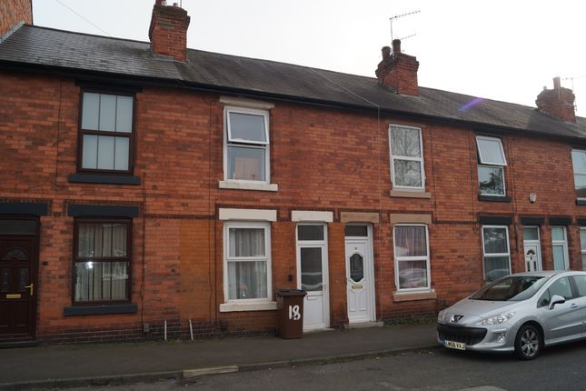 Thumbnail Terraced house to rent in Vernon Avenue, Nottingham