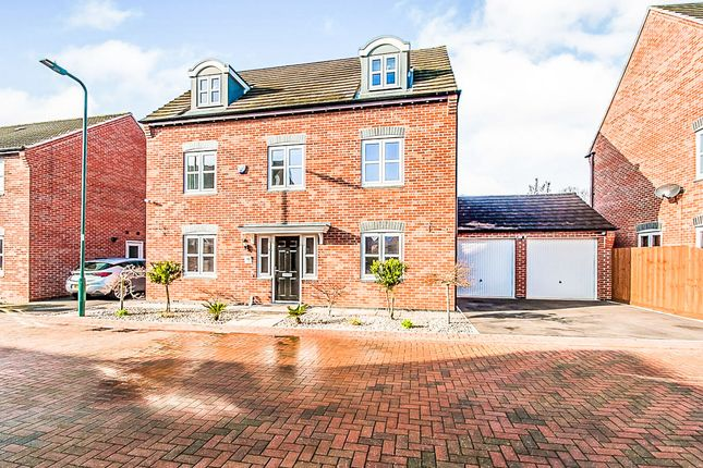 Thumbnail Detached house for sale in Chedworth Close, Peterborough