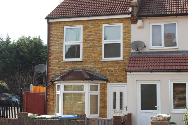 Thumbnail End terrace house to rent in Mayplace Road West, Bexleyheath, Kent