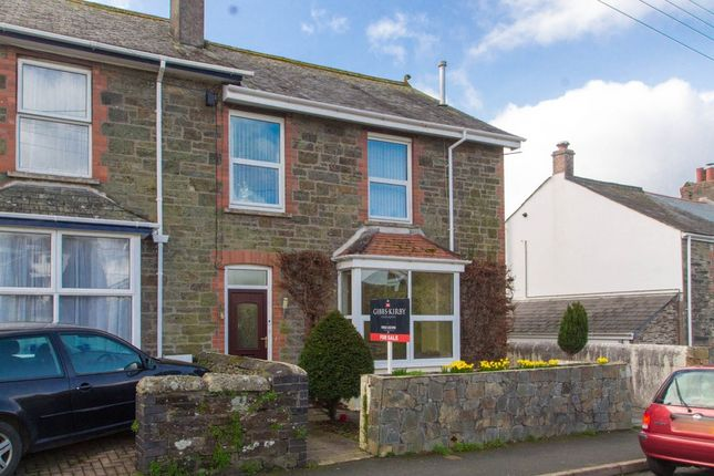 Thumbnail End terrace house for sale in Whitchurch Road, Whitchurch, Tavistock