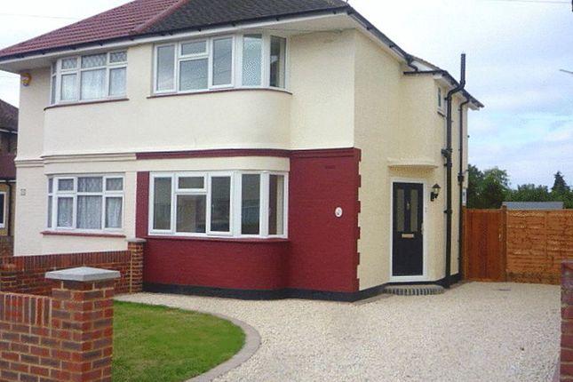 Thumbnail Semi-detached house to rent in Welwyn Avenue, Feltham