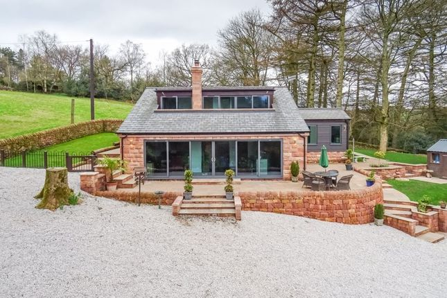 Thumbnail Detached house for sale in Reacliffe Road, Rudyard, Staffordshire