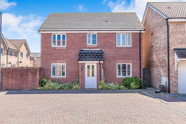 Thumbnail Detached house for sale in James Court, St.Mellons, Cardiff