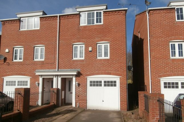 Thumbnail Town house to rent in Deans Gate, Willenhall