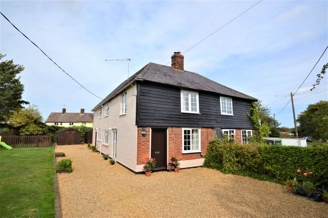 Thumbnail Semi-detached house for sale in Sheepcote Green, Clavering, Saffron Walden