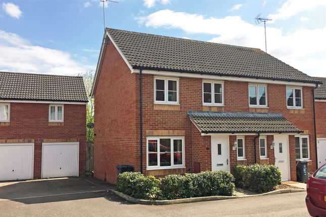 Thumbnail Semi-detached house for sale in The Forge, Off Horseshoe Way, Hempsted, Gloucester