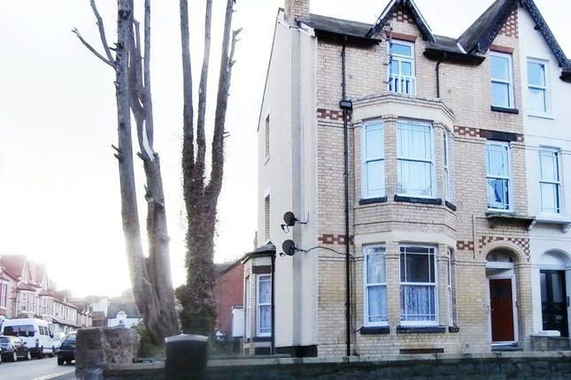 Thumbnail Flat to rent in Greenfield Road, Colwyn Bay