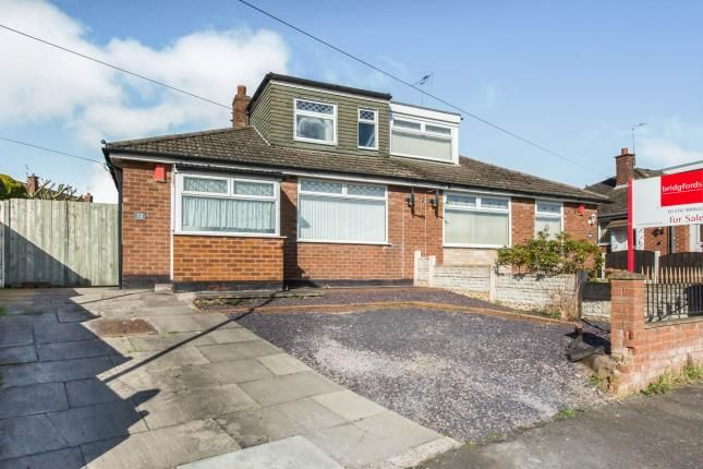 Thumbnail Bungalow for sale in Westbourne Avenue, Crewe, Cheshire