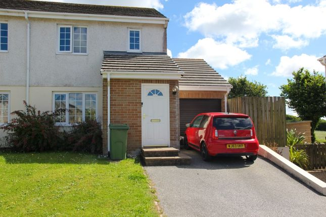 Thumbnail Semi-detached house to rent in Fairview Park, St Columb