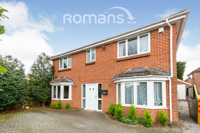 Thumbnail Detached house to rent in Linden Avenue, Old Basing, Basingstoke