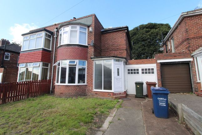 Thumbnail Semi-detached house to rent in Denhill Park, Benwell, Newcastle Upon Tyne
