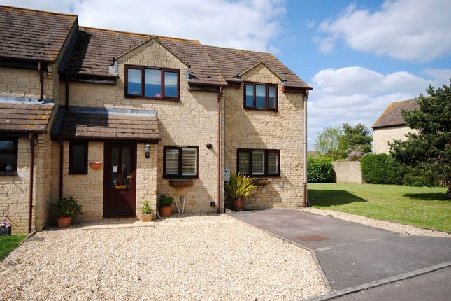 Thumbnail Semi-detached house for sale in Ripley Avenue, Minster Lovell, Witney