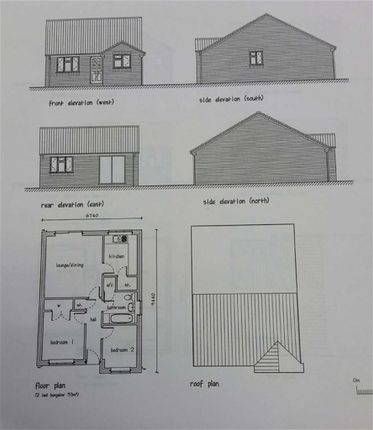Thumbnail Detached bungalow for sale in Adjacent To 23, Vale Street, Upper Gornal