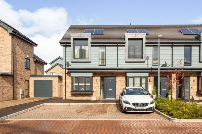 Thumbnail End terrace house for sale in Back Lane, Great Cambourne, Cambridge