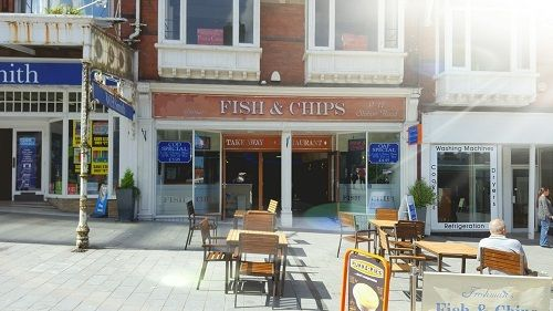 Thumbnail Restaurant/cafe for sale in Station Road, Colwyn Bay
