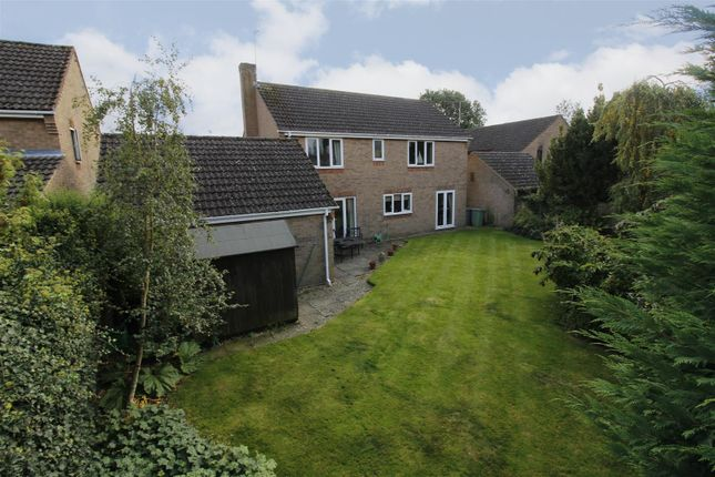 Thumbnail Detached house for sale in Belton Close, Market Deeping, Peterborough