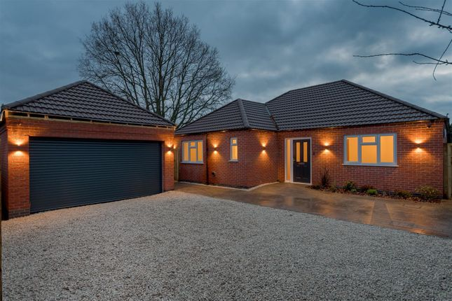 Thumbnail Bungalow for sale in Albert Avenue, Sileby, Loughborough