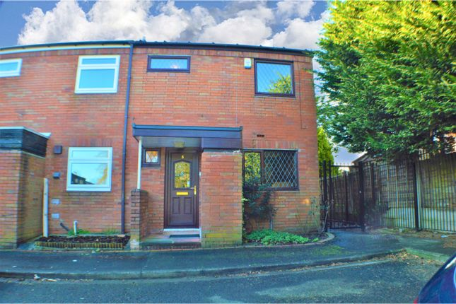 Thumbnail End terrace house for sale in Harebell Avenue, Manchester