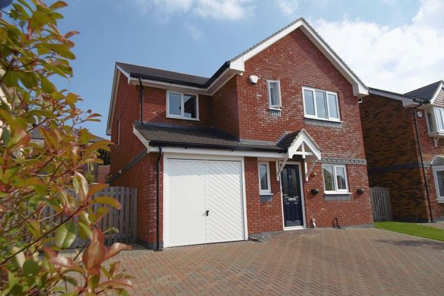Thumbnail Detached house for sale in Cysgod Y Castell, Llandudno Junction