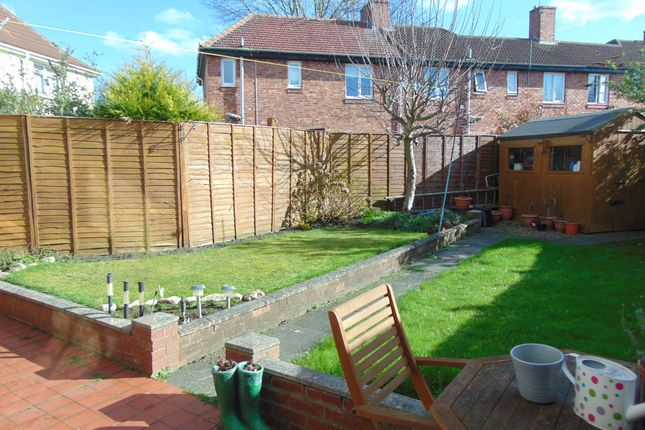 Thumbnail Semi-detached house for sale in Musgrave Gardens, Gilesgate, Durham