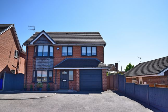 Thumbnail Detached house for sale in Northgate Close, Hanford, Stoke-On-Trent