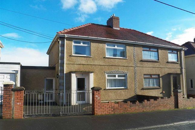 Thumbnail Semi-detached house for sale in Brynhyfryd, Burry Port