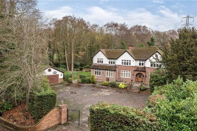 Thumbnail Detached house for sale in Wokingham Road, Sandhurst, Berkshire