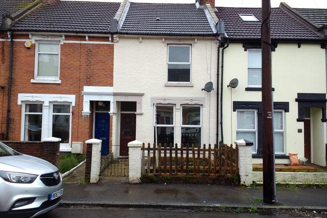 Thumbnail Terraced house to rent in Parham Street, Gosport