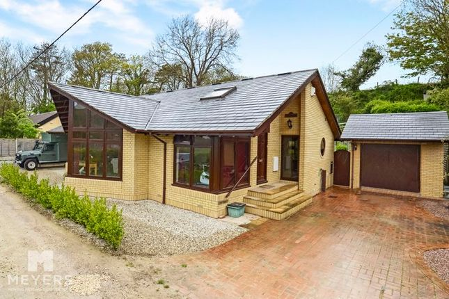 Thumbnail Detached bungalow for sale in The Launches, West Lulworth BH20.