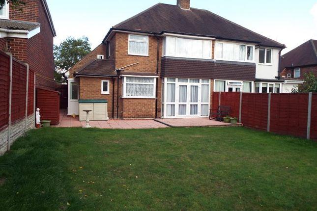 Thumbnail Semi-detached house to rent in Chester Road, Erdington